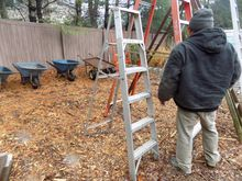 6' Galvanized Step Ladder