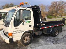 2004 Isuzu NPR 1 Ton Dump Truck