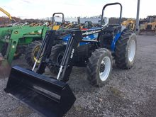 Holland TN 70 Tractor -Rops-4WD