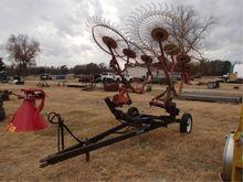 Peerless 8 Wheel Hay Rake Pull