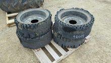 Hard Rubber Skidloader Tires