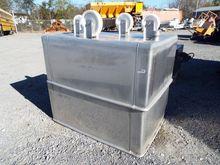 (2) Aluminum Wheeled Tubs w/Dra