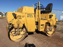 1990 Bomag BW120AD Roller Compa