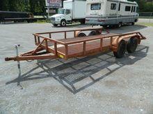 unit 1135 - 16' utility trailer
