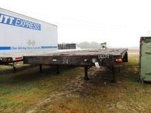 GREAT DANE 8X45 T/A FLATBED TRA