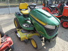 JD X500 RIDE MOWER