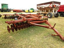 MILLER 12' OFFSET HARROW, TRANS