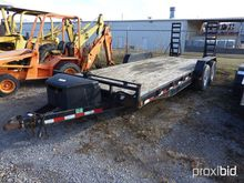 2007 PJ Trailer With Ramps