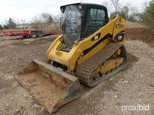 CAT 279C RUBBER TRACKED SKID ST
