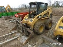CAT 246 SKID STEER SN5SZ05400 S