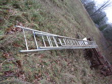 3-section Aluminum ladder