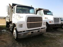 1990 FORD L9000 S/A DUMP TRUCK,
