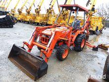 2002 Kubota L35 4x4 Tractor Loa