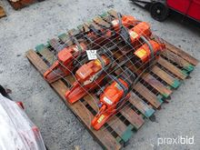 Used (7) Chain Saws,