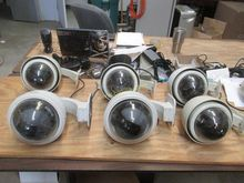 6 CCTV Wall Mount Cameras With