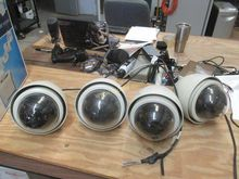 4 CCTV Ceiling Drop Mount Camer
