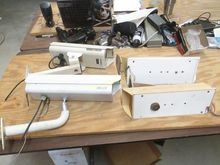 4 CCTV Wall Mount Cameras With
