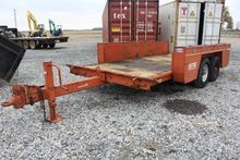Ditch Witch T/A Tilt Bed Traile