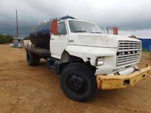 1983 FORD WATER TRUCK / MILEAGE