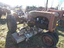 AC CA Tractor w/Woods Belly Mow