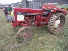 Int 784 Tractor