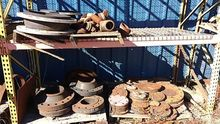 3 PALLETS INDUSTRIAL PIPE ENDS,