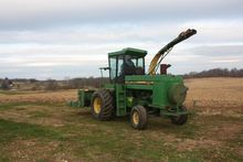 JD 5460 Forage Harvester; with