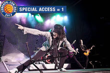 Win a special access pass and m