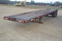 1981 Nabors 38' FLATBED TRAILER