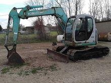 Kobelco SK70SR Hydraulic Excava