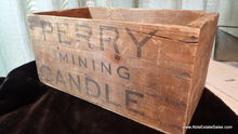 Perry Mining Candle Antique Woo