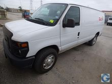 2012 Ford E-250 van with 107,68