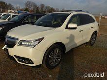 2014 Acura MDX AWD 4-Door Sport