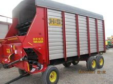 H&S HD Twin Auger Forage Wagon