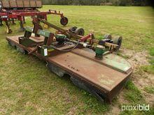 KMC 14' 3 pt. rotary mower w/ s