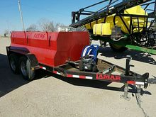 Lamar 1,000 gal. fuel trailer,