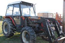 Zetor 6245 Tractor, MFWD, (2) S