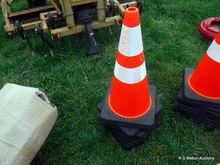 orange cones - 10 times the mon