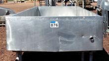 Jacketed Steam Cheese Tank