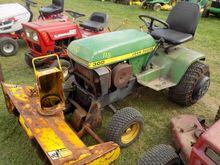 JD 300 Garden Tractor w/ Snowbl