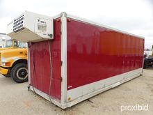 22FT. REEFER VAN BODY WITH THER