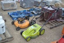 LOT OF (2) LAWN MOWERS . ~
