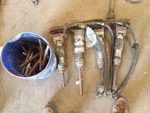 4 Sullair 30lb hammers