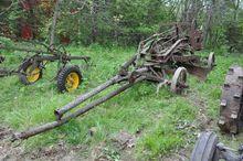 Pull-Type antique road grader