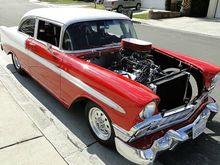 Custom 1956 Chevy Belair Prostr