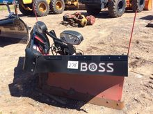 "Boss 9'2"" Poly-VXT V snow plow;"