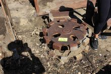 Trench compactor fits Case back