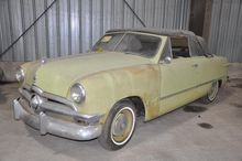 1950 Ford 2 Door Convertible