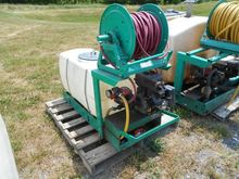LESCO SKID MT SPRAYER 50 GAL