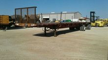 1997 Wabash National Flatbed Tr
